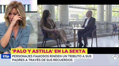 No me enfoquéis, lo pido por favor: Susanna Griso, a lágrima viva en Antena 3