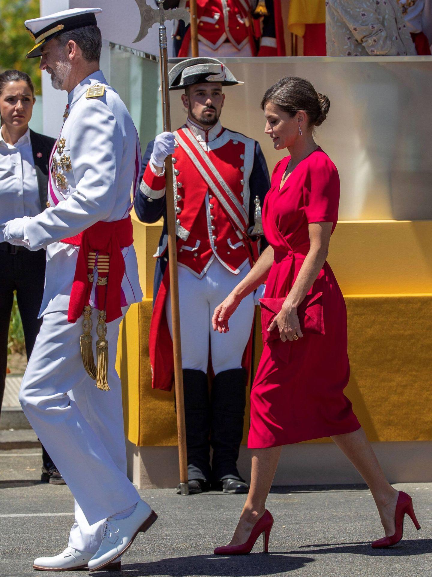 Los reyes Felipe y Letizia . (EFE)