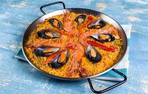 Paella mixta, giro innovador a un plato muy tradicional