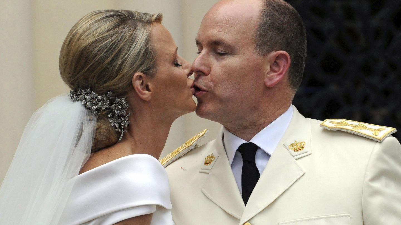 La boda de Alberto y Charlène. (EFE)