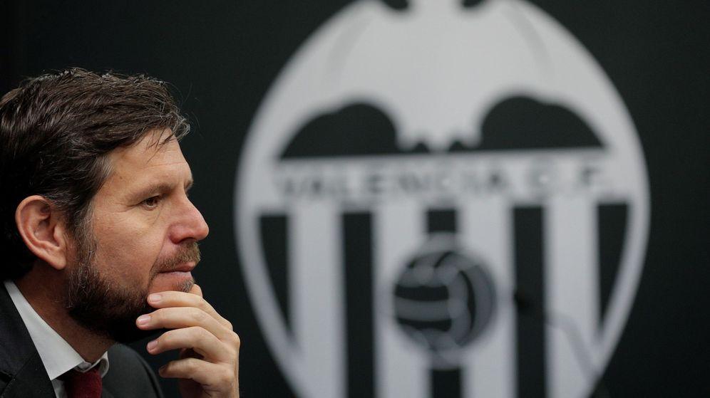 Foto: El director general del Valencia, Mateu Alemany. (EFE)