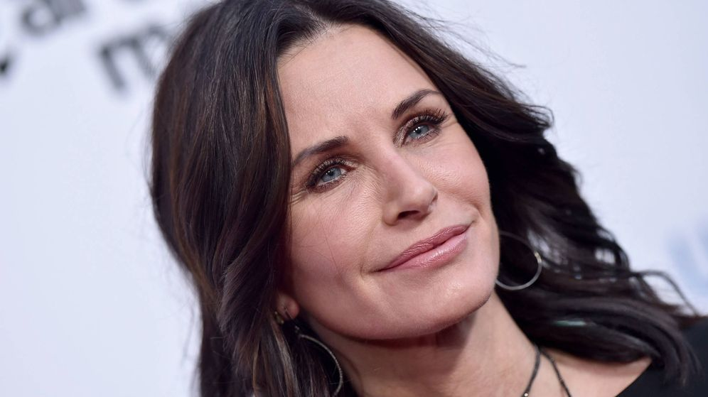 Foto: Courtney Cox en una foto reciente. (Getty)