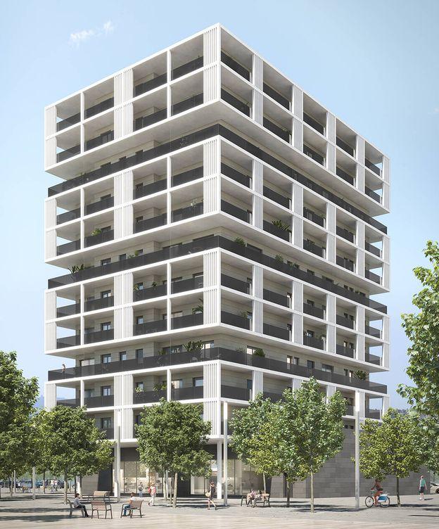Foto: Futuro edificio que Patrizia ha adquirido a Metropolitan.