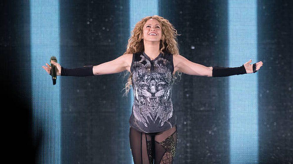 Foto: Shakira siempre en forma. (Getty)