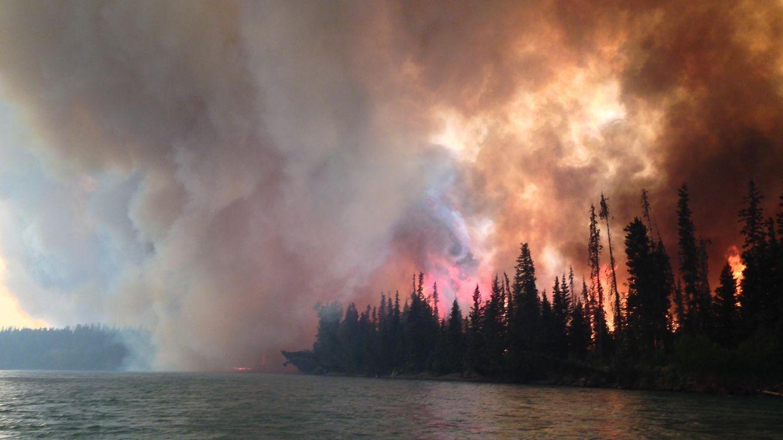 Foto: El incendio del río permitió que se hallase un misterioso cadáver. (CC/Josh Turnbow)