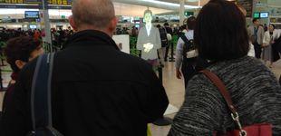 Post de La fascinante mujer holográfica del aeropuerto del Prat
