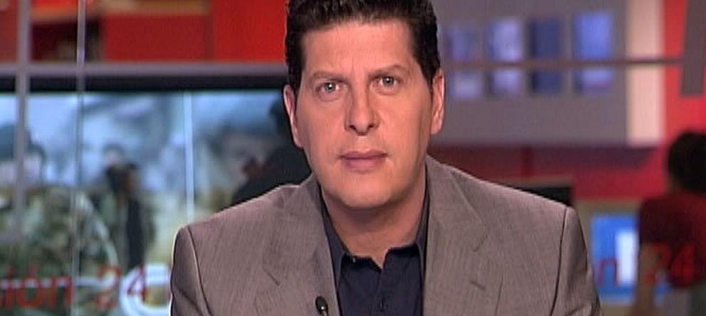 Foto: El periodista David Tejera en una imagen de archivo de CNN+