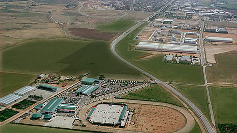 Foto aérea de la Hípica de Toledo, de la familia Bono. (Cortesía)