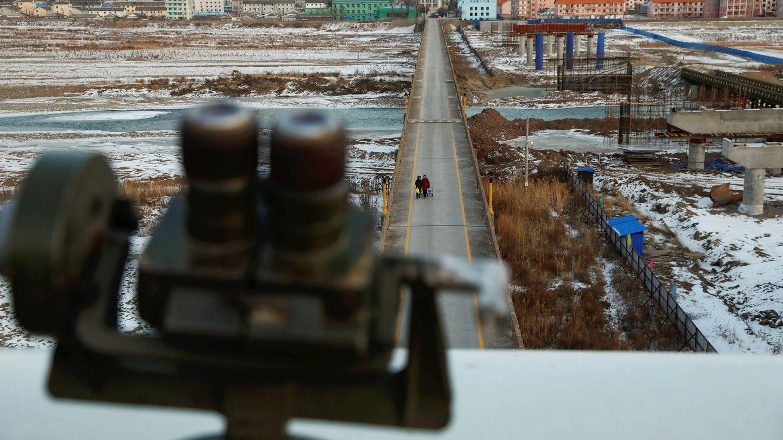 Puente Tumen entre China y Corea del Norte (Reuters)
