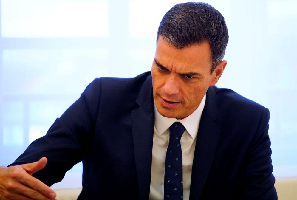 Foto: Pedro Sánchez, este 13 de septiembre en el palacio de la Moncloa. (Reuters)