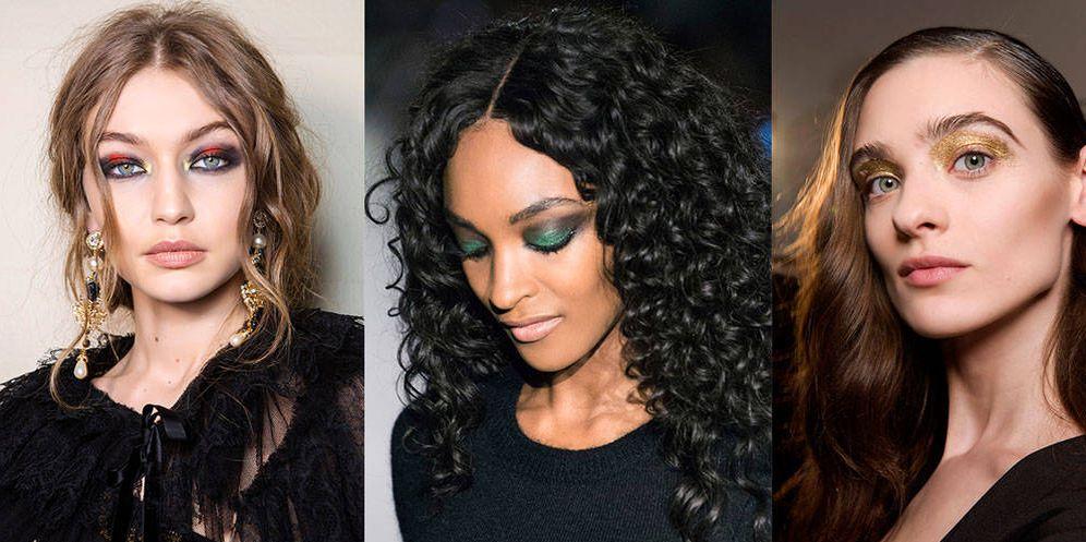 Foto: Sombras de ojos, máscaras de pestañas o labiales. El brillo será tu mejor aliado a la hora de maquillarte. (Imaxtree)