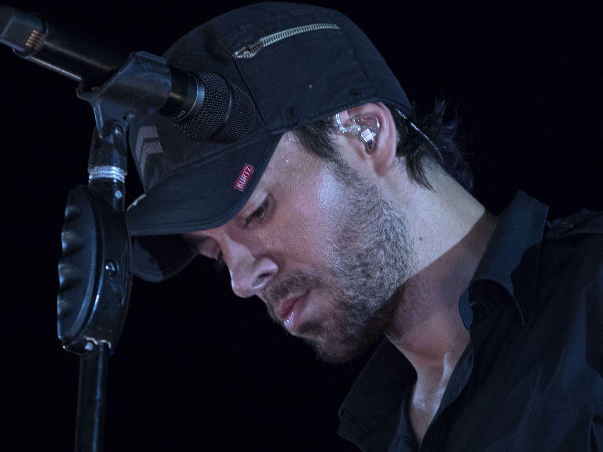 Foto: Enrique Iglesias, durante un concierto en Tel Aviv. (EFE)