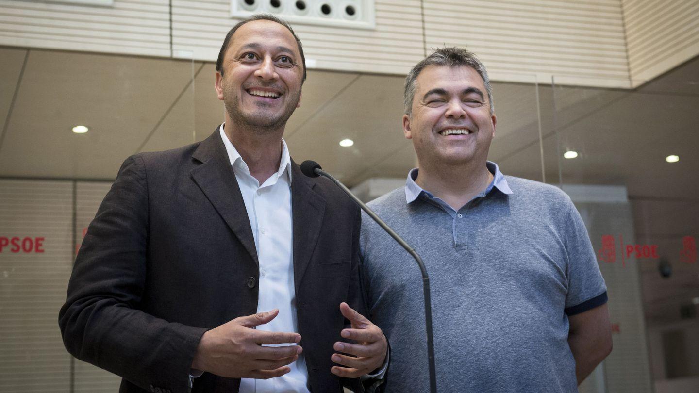 Alfonso Rodríguez Gómez de Celis y Santos Cerdán, el pasado 26 de mayo. (EFE)