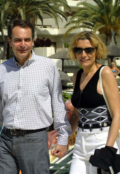 Foto: Rodríguez Zapatero y Sonsoles Espinosa en Lanzarote en una imagen de archivo (I.C.)