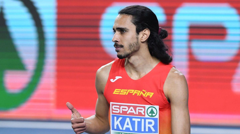 Katir, en el Europeo de Atletismo en Pista Cubierta en Polonia (EFE)