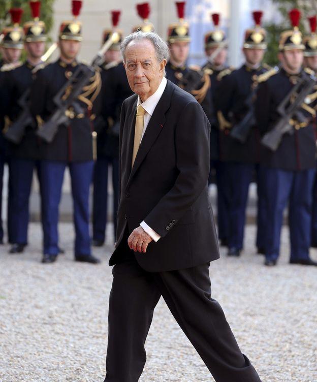 Foto: Villar Mir a su llegada a una recepción. (EFE)