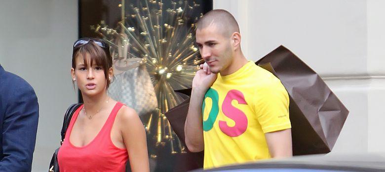 Foto: Karim Benzema y su novia Chloé, en una imagen de archivo (I.C.)