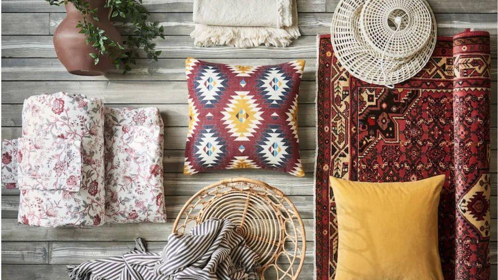 Dale a tu casa un aire boho con estos complementos de Ikea