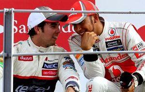 McLaren ya tiene 'plan B' si Hamilton se va: Sergio Pérez