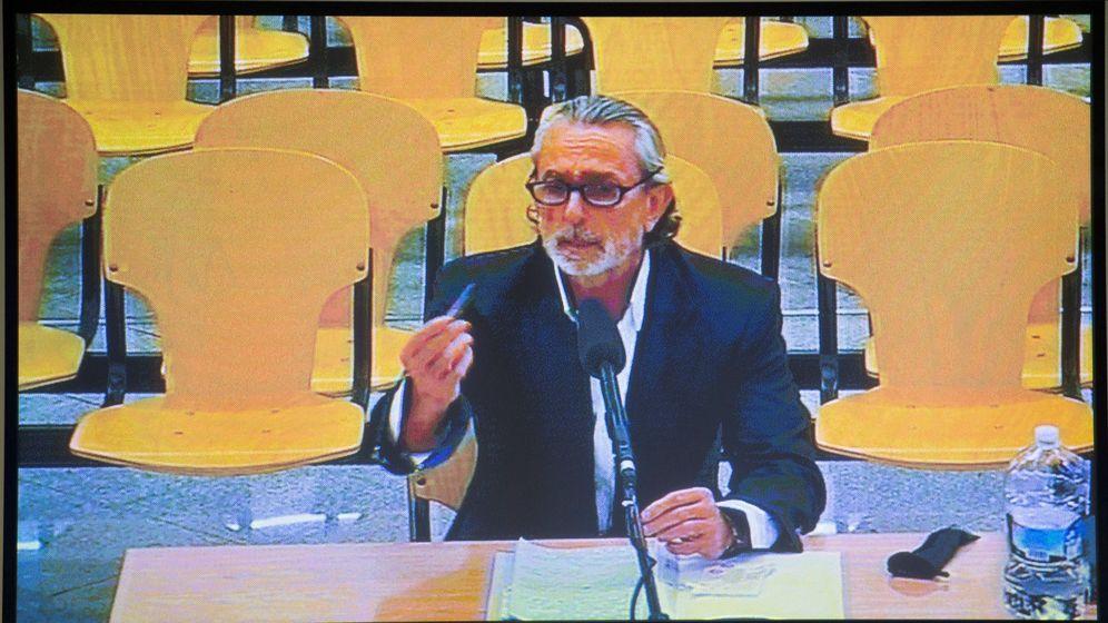 Foto: Francisco Correa, durante una de sus declaraciones en el juicio. (EFE)