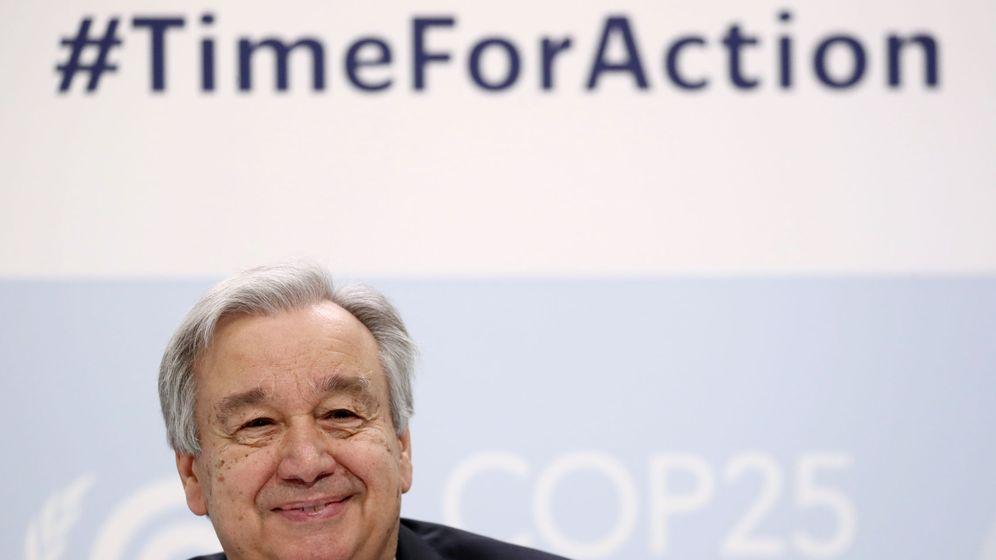 Foto: António Guterres da el pistoletazo de salida a la cumbre por el clima. (EFE)