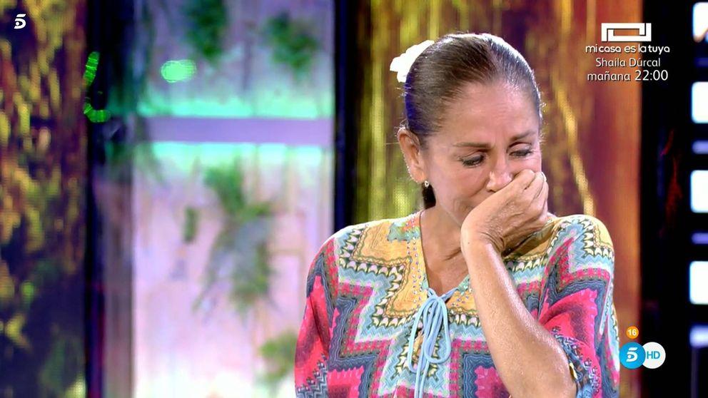Isabel Pantoja, rota de dolor al conocer el drama entre Chabelita y Kiko Rivera