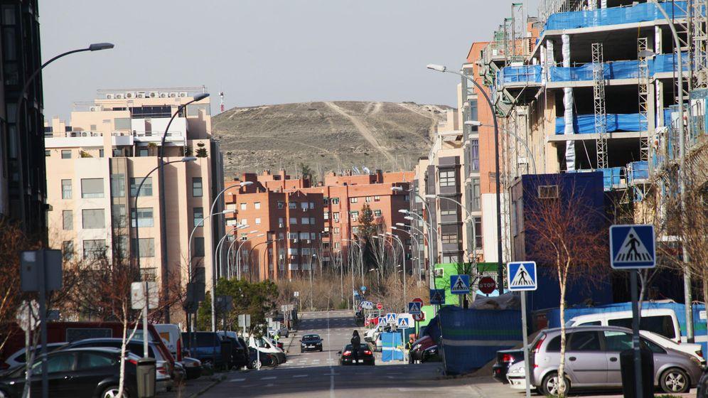 Foto: Vista de una calle del PAU Vallecas (E.Villarino)