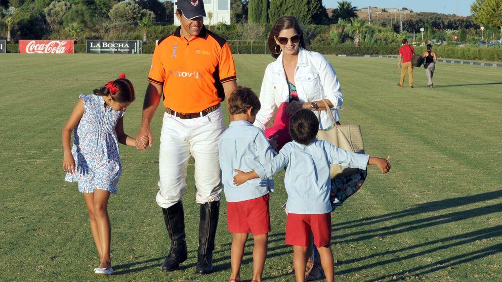 Luis Alfonso de Borbón y Margarita Vargas, los anfitriones del polo en Sotogrande