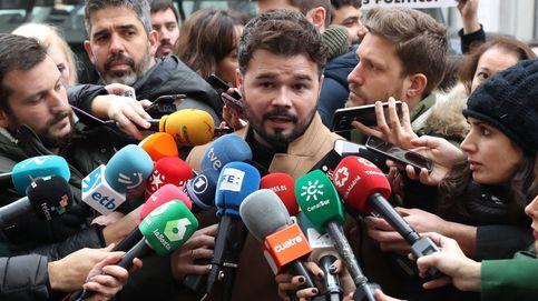 Rufián: Habrá investidura como se pueda y como el Estado permita