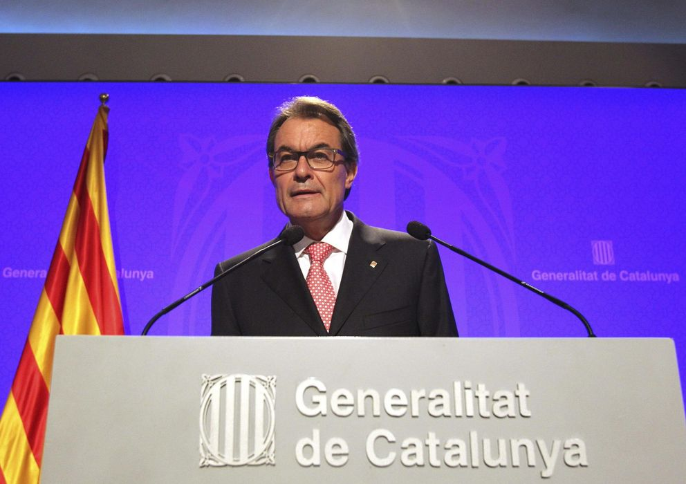 Foto: El presidente de la Generalitat catalana, Artur Mas (EFE)