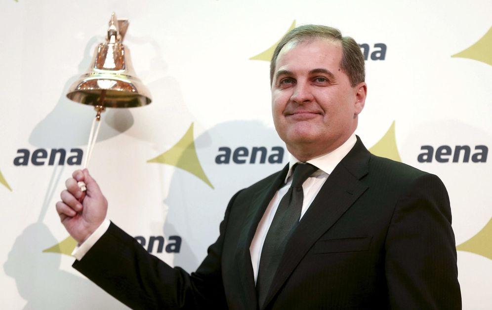 Foto: El presidente de Aena, José Manuel Vargas, anuncia la salida a bolsa de AENA. (EFE)