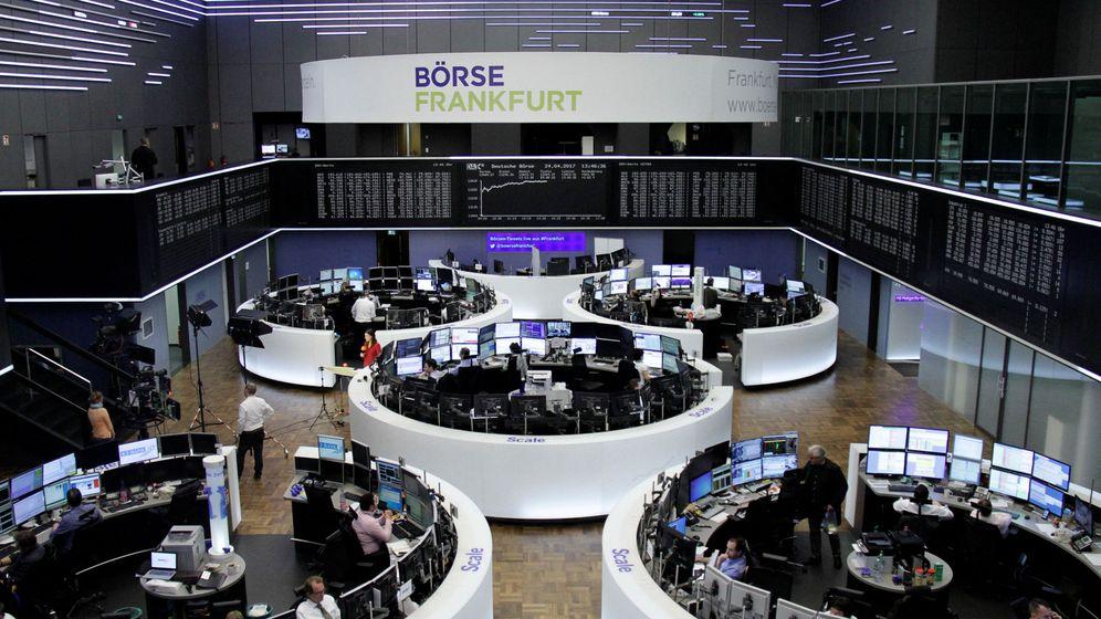 Foto: La bolsa alemana en Fráncfort. (Reuters)