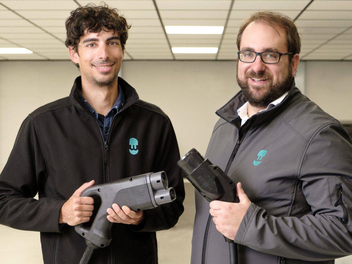 Foto: Eduard Castañeda y Enric Asunción, cofundadores de Wallbox.