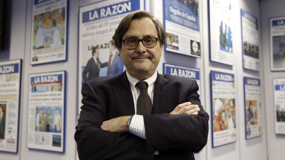 Foto: El director del periódico 'La Razón', Francisco Marhuenda. (EFE)