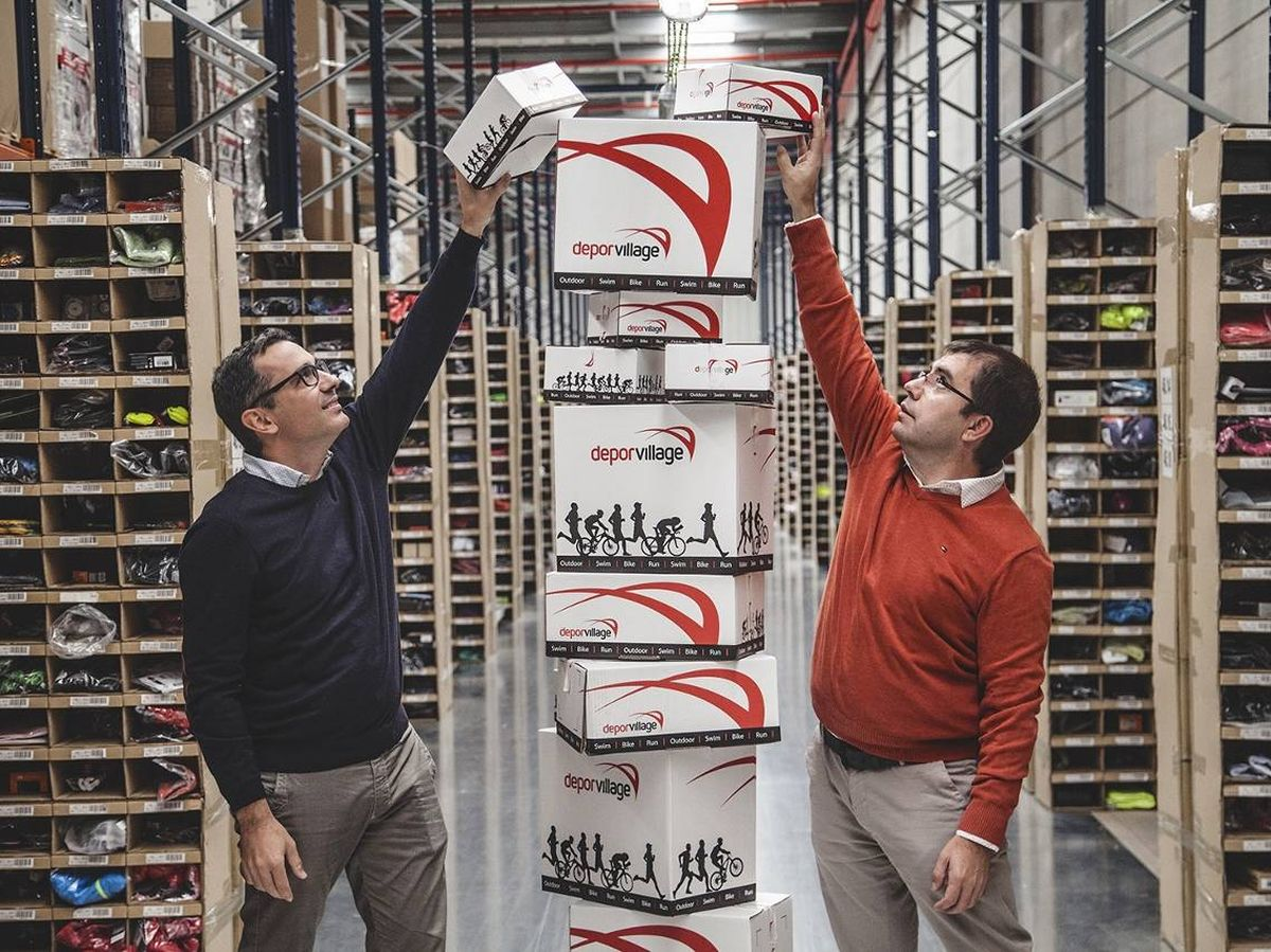 Foto: Xavier Pladellorens y Angel Corcuera son los fundadores de Deporvillage.
