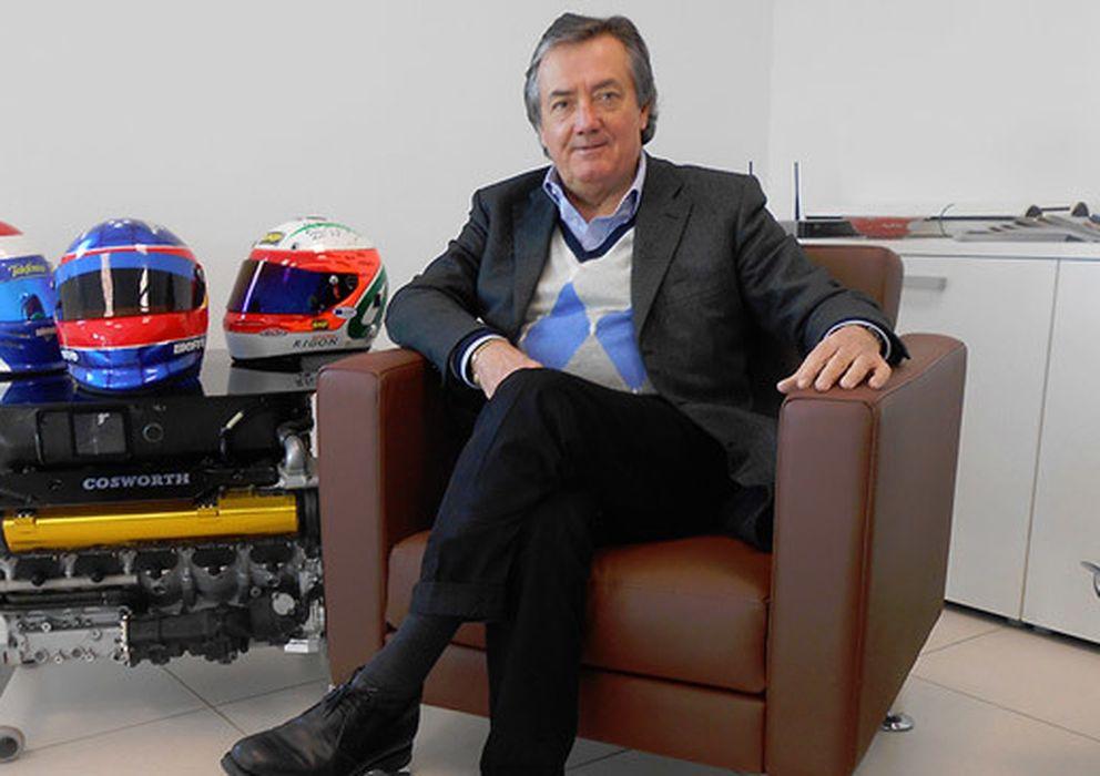 """Foto: Minardi: """"El nuevo McLaren, muy atractivo, futurista, innovador en todos los terrenos""""."""