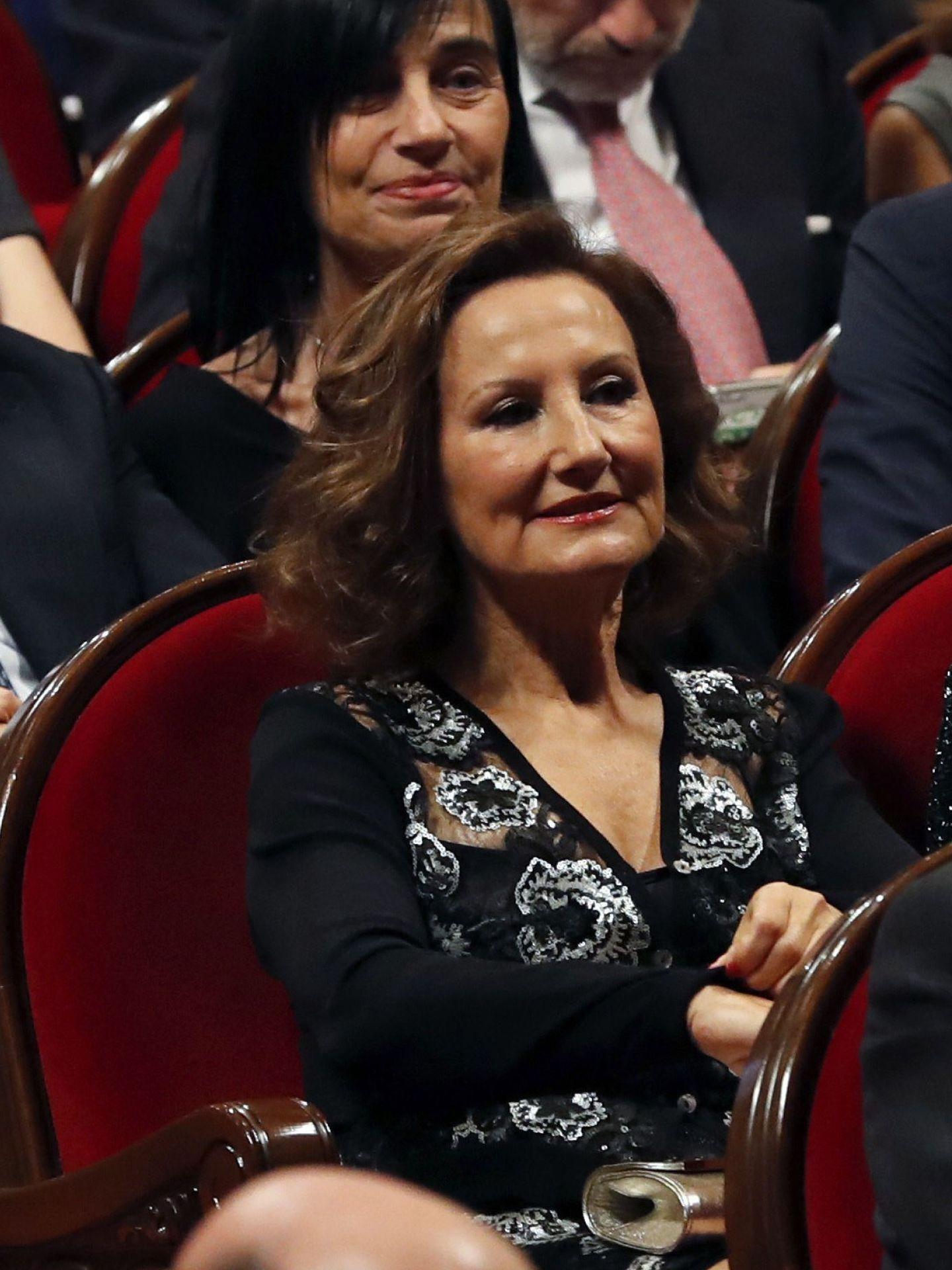 Paloma Rocasolano, en una edición anterior de los Premios Princesa de Asturias. (EFE)