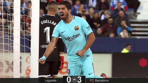 El Barcelona pasea su eficacia por Leganés