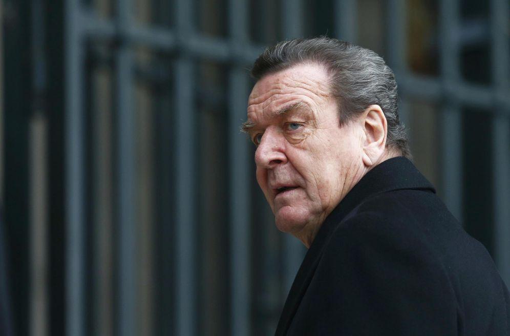 Foto: El excanciller Gerhard Schröder, el 11 de febrero de 2015 en Berlín. (Reuters)