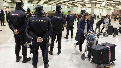 Dos detenidos en Barajas por intentar ocultar 53 kilos de cocaína en palés de carga