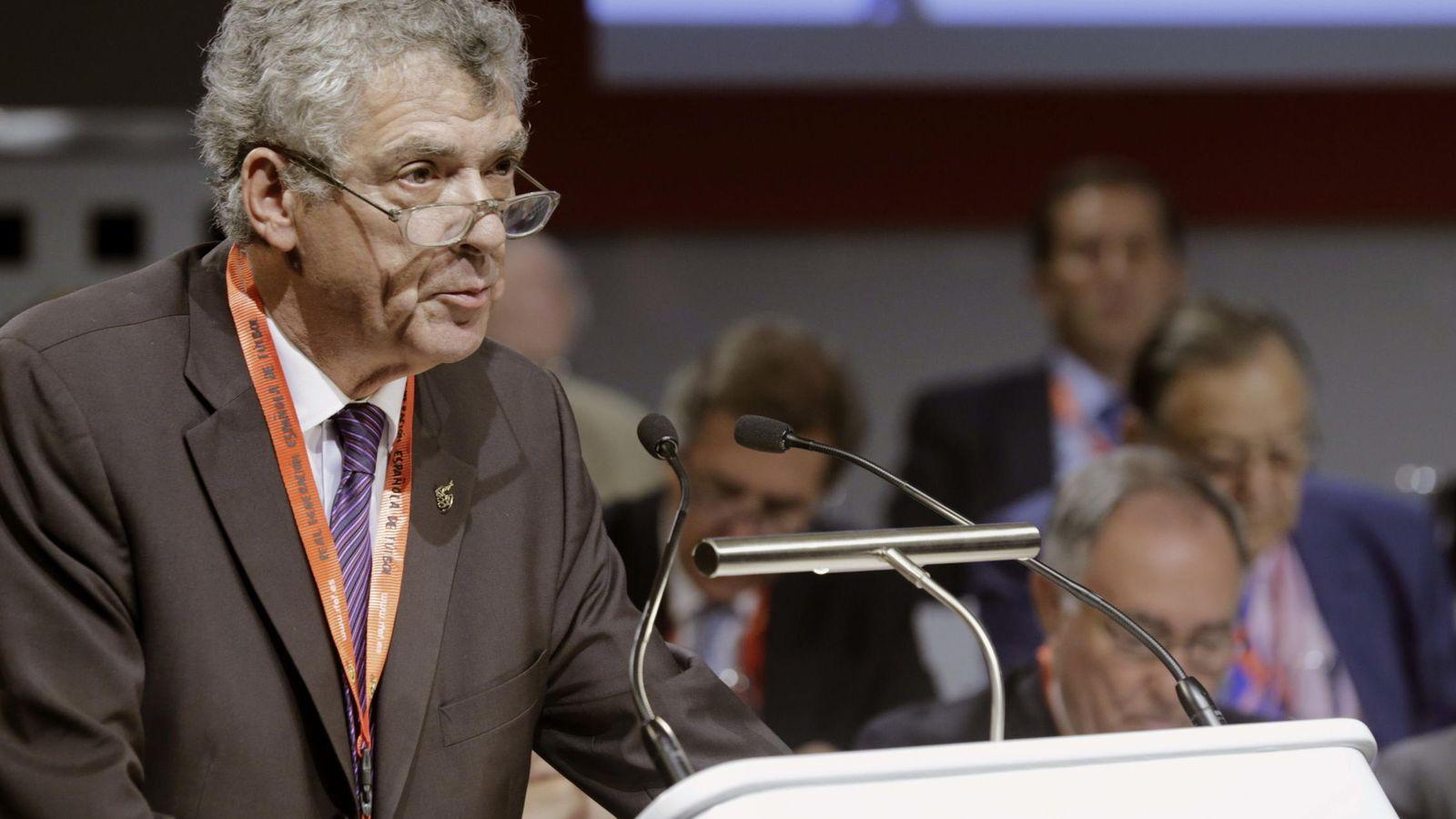 Foto: Ángel María Villar. (EFE)