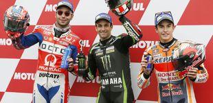 Post de Un error de Márquez con los neumáticos le impide lograr la 'pole' en Motegi