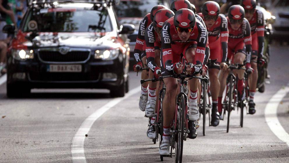 El equipo BMC se lleva la contrarreloj por equipos inicial de la Vuelta a España