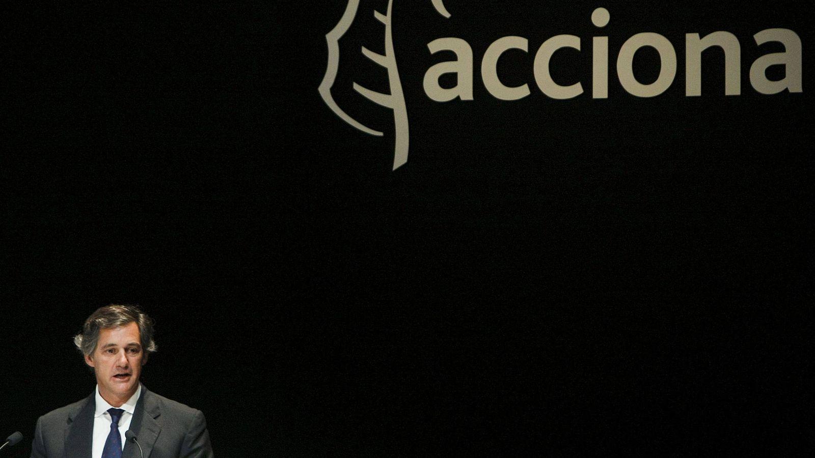 Foto: El presidente de Acciona, José Manuel Entrecanales (Efe)