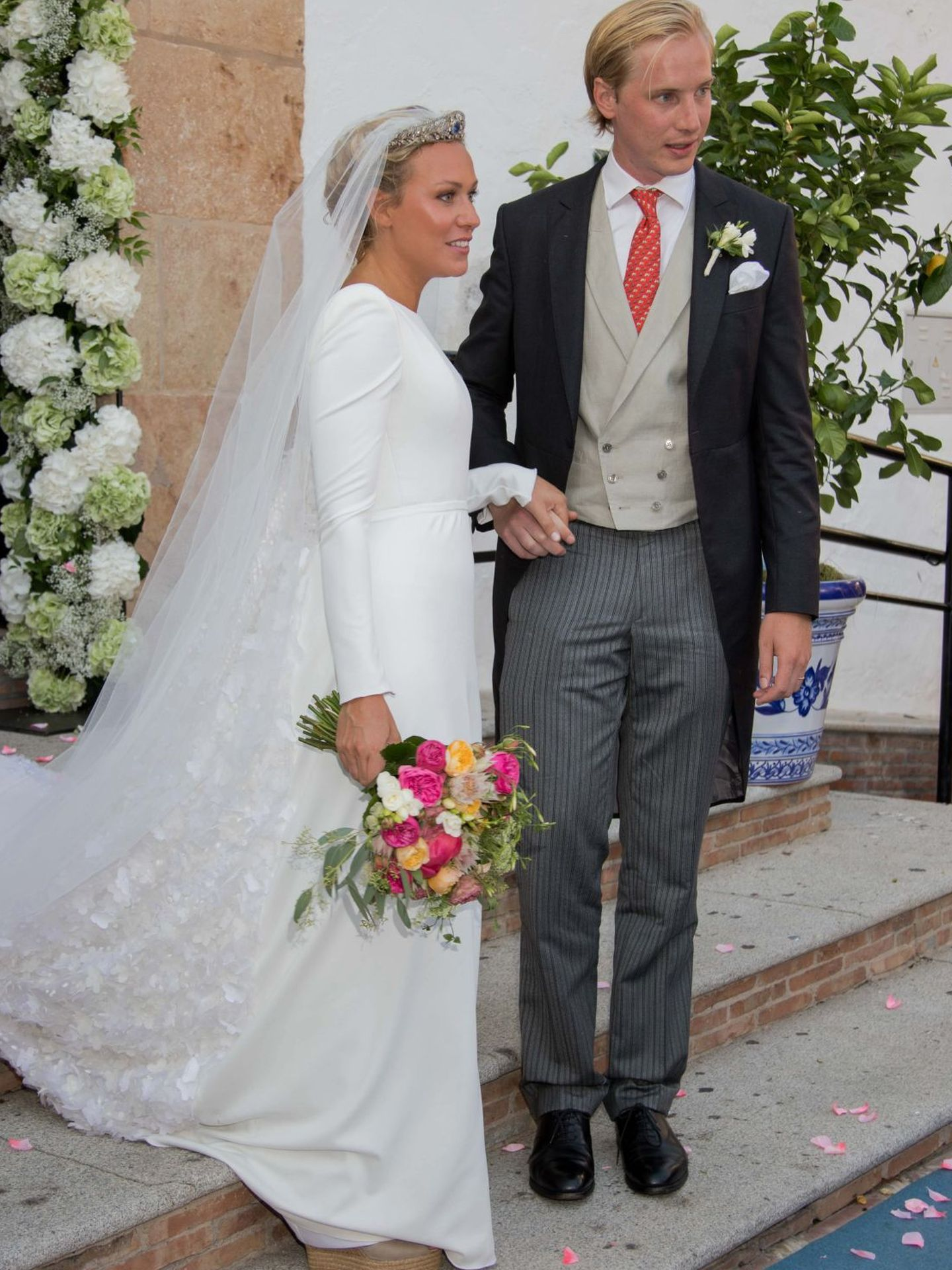 La boda de la hermana de Constantin en Marbella. (CP)