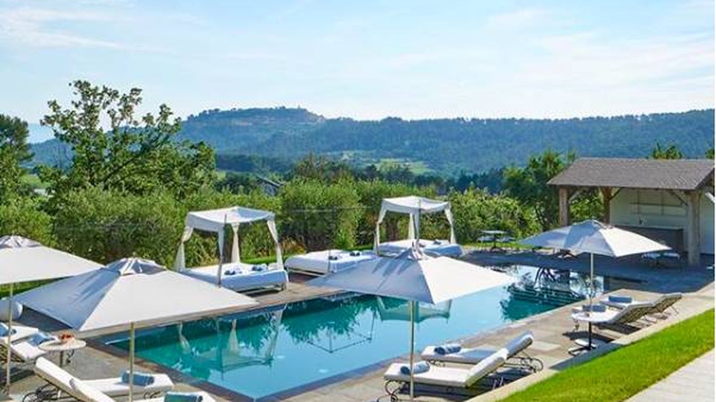 Foto de la villa donde se han reunido al sur de Francia. (Instagram)