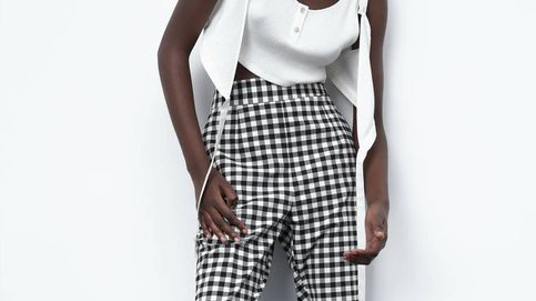 Estos pantalones de Zara de cuadros vichy son la tendencia que recogemos de La Vecina Rubia