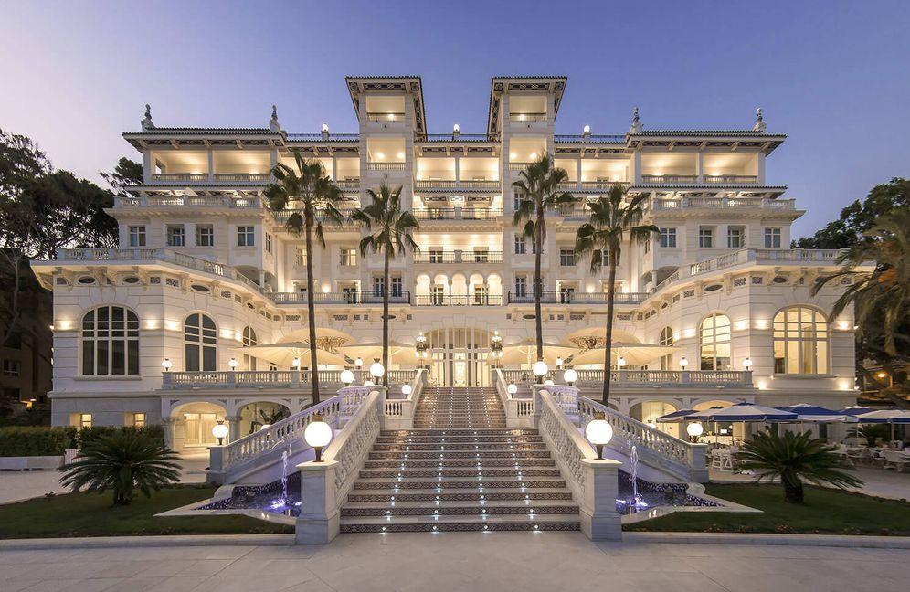 Foto: El Gran Hotel Miramar de Málaga tiene su punto hollywoodiense. (Cortesía)