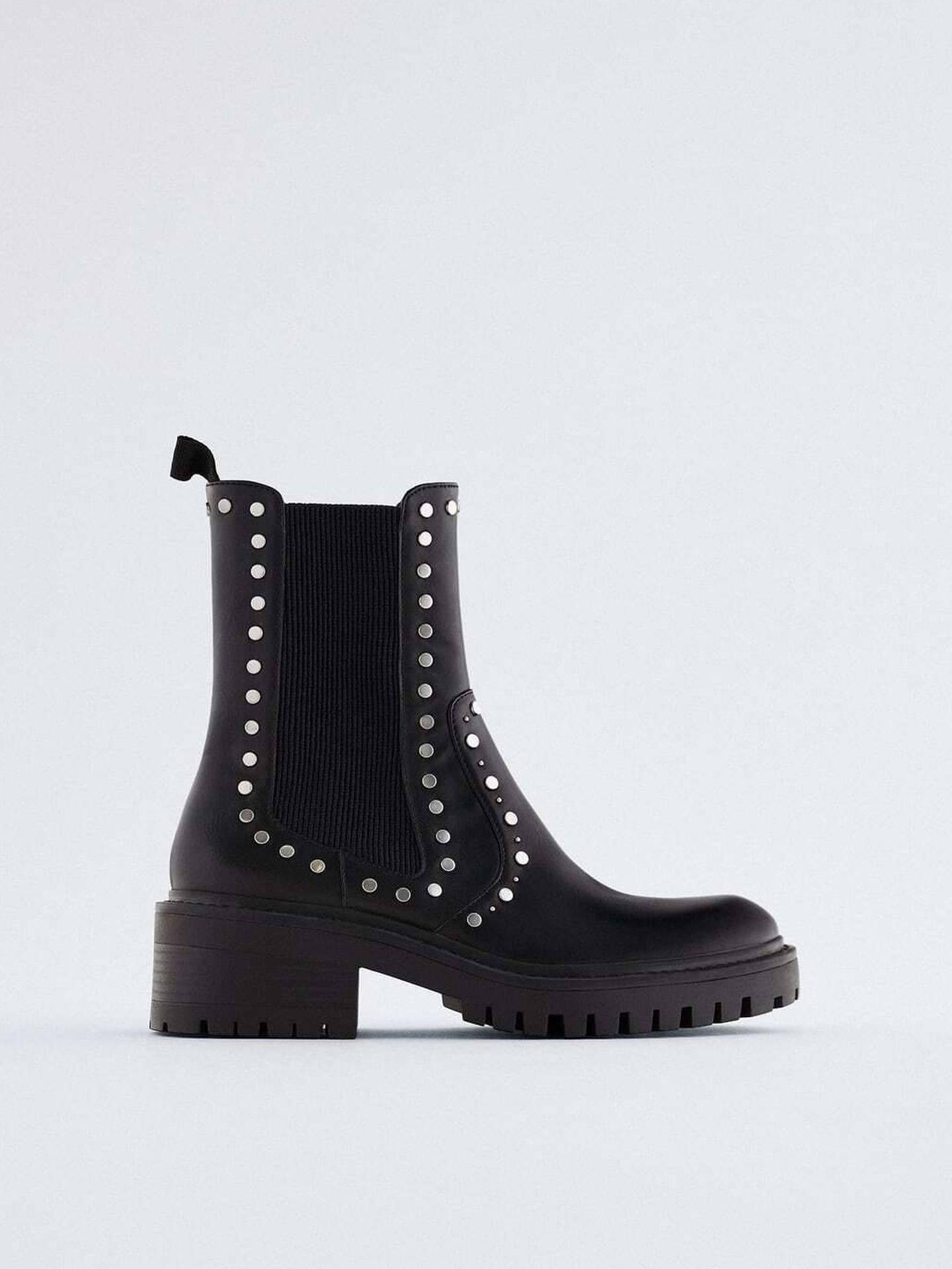 Los botines de Zara. (Cortesía)