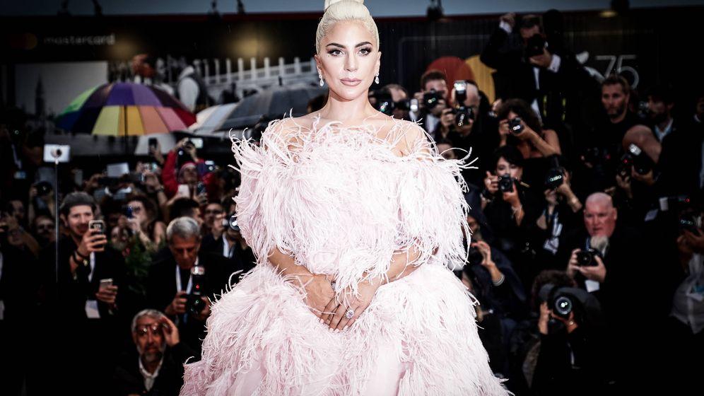 Foto: Lady Gaga durante el Festival de Venecia 2018. (Getty)
